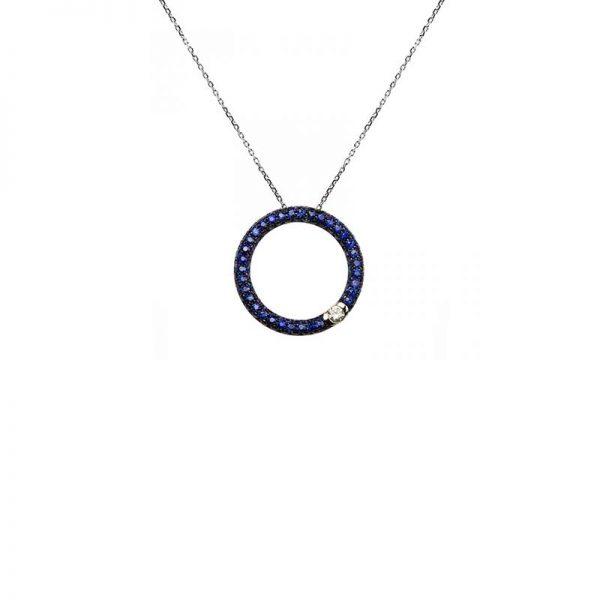 Torres Joalheiros | Forever Blue | Necklace Ref. RVCO2368D